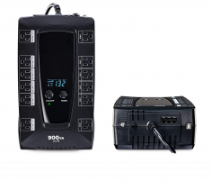 900VA/480W 12 Outlet Uninterruptible Power Supply W LCD (UPS) (TPE-CYB900LCD)