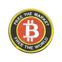 Free The Market Free The World Bitcoin Patch