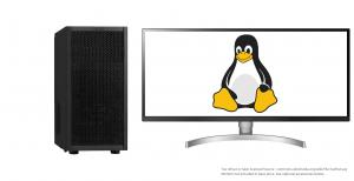 The Penguin Pro 12 GNU / Linux Desktop
