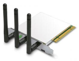 Penguin Wireless N PCI Card /w Low Profile Bracket for GNU / Linux