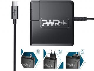 65W USB-C AC Laptop Travel Adapter & Charger: US & International (TPE-PWRTSSPD)