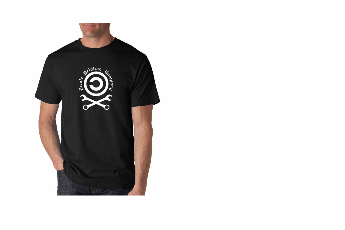 Pirate Printing Company T-Shirt | ThinkPenguin.com