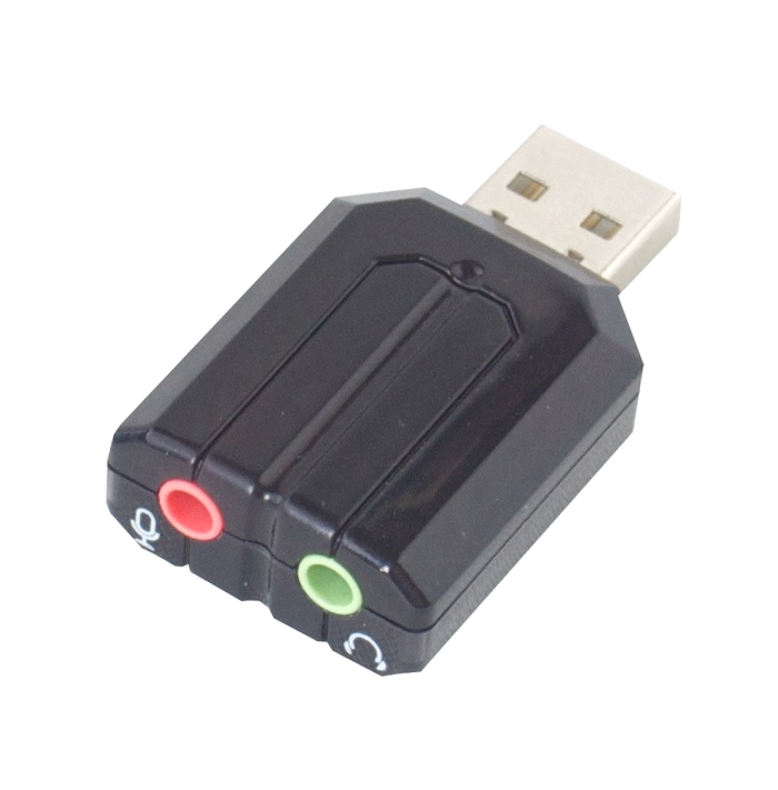 penguin usb 2 0 audio adapter card for linux ubuntu ebay. Black Bedroom Furniture Sets. Home Design Ideas