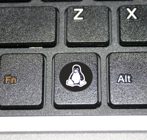 Linux Inside Logo Free Software Sticker